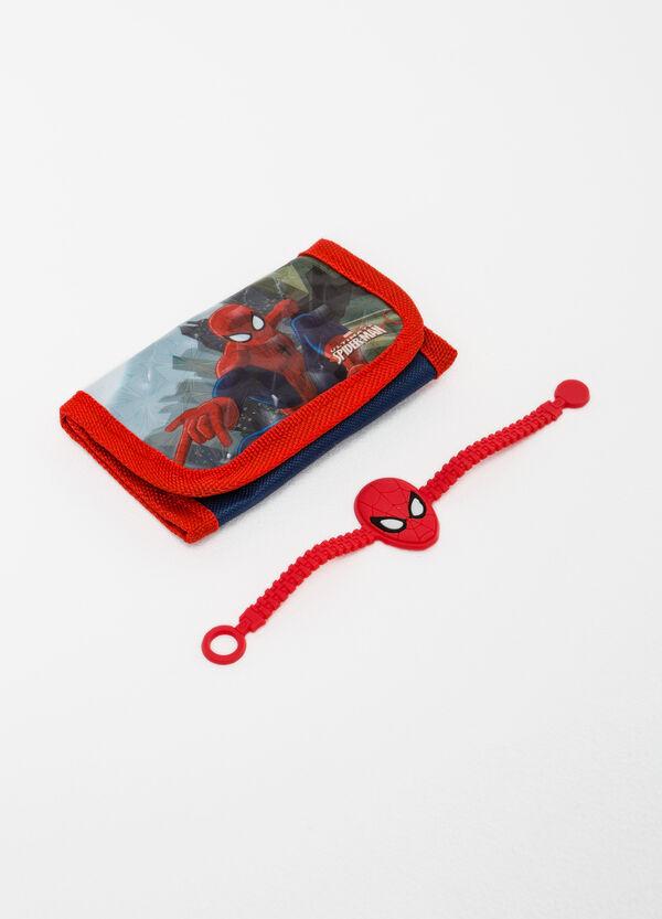 Spiderman wallet and bracelet set | OVS