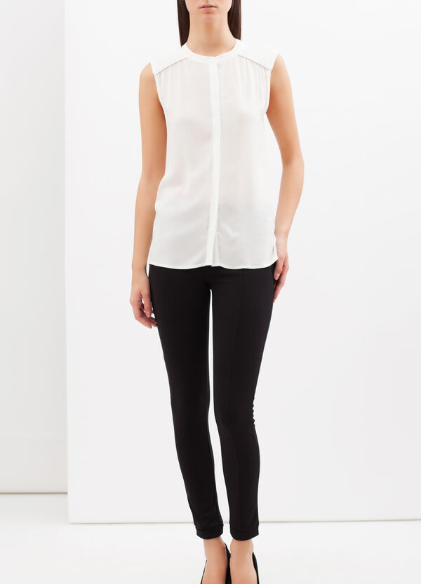 Sleeveless stretch blouse | OVS