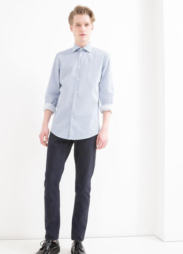 Camicia stampata slim fit cotone | OVS
