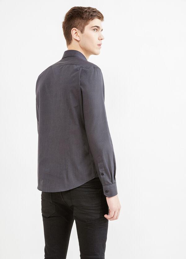 Camicia casual fantasia micro righe | OVS