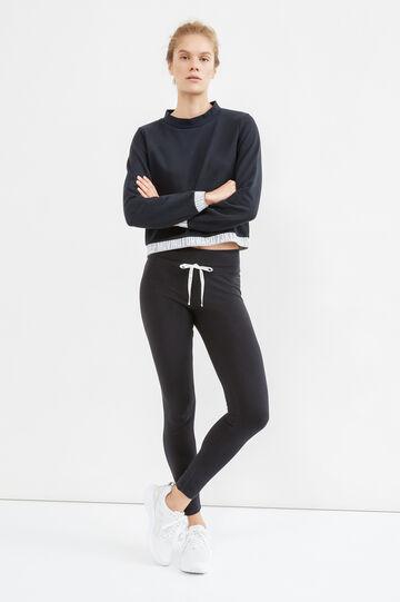 OVS Active Sport Training sweatshirt, White/Black, hi-res