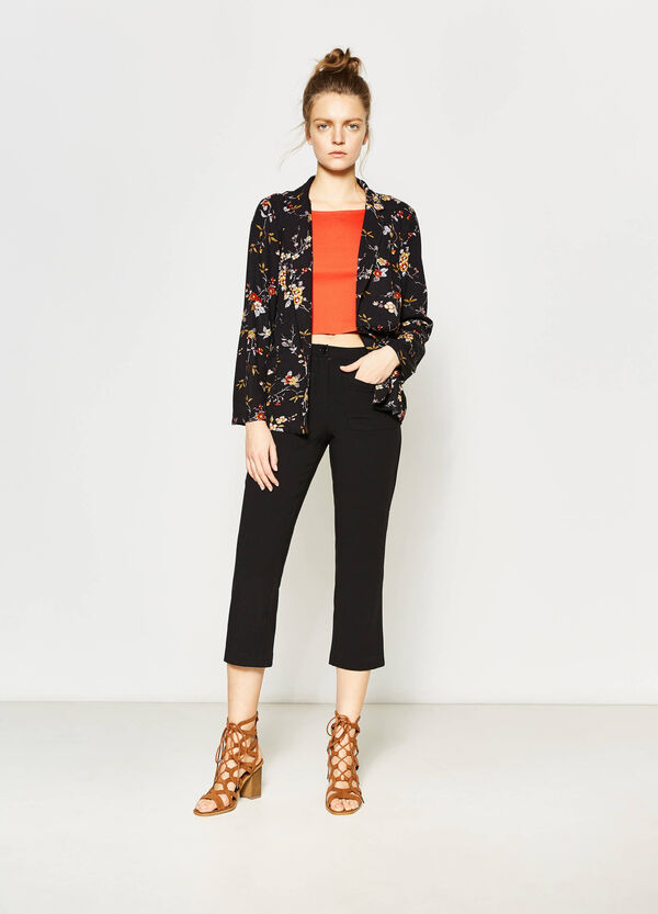 Open blazer with lapels | OVS