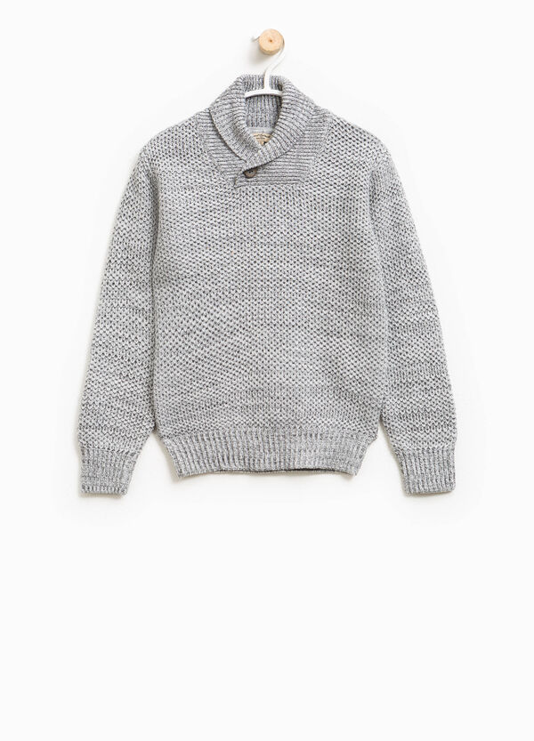 Chunky knit cotton pullover | OVS