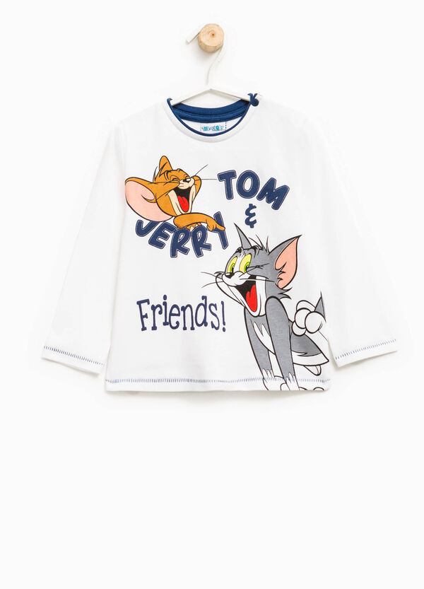 T-shirt cotone stampa Tom e Jerry | OVS