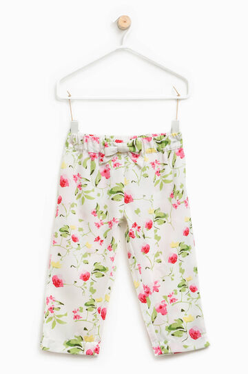 Floral patterned trousers