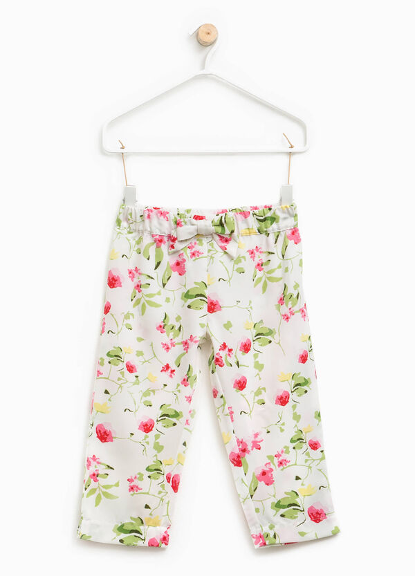 Floral patterned trousers | OVS