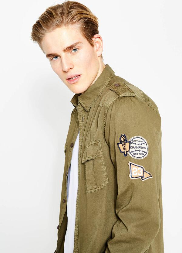 Camicia casual in cotone con patch G&H | OVS