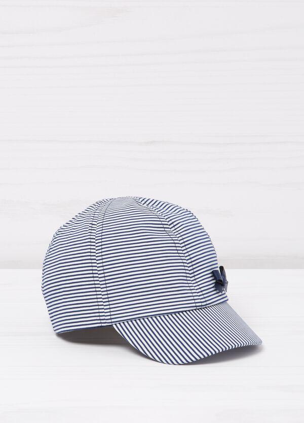 Striped cotton cap | OVS