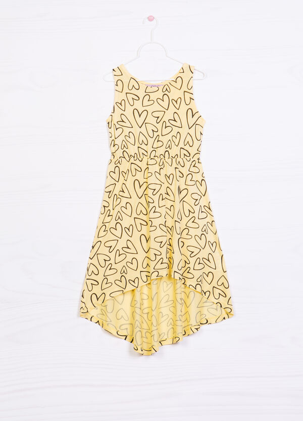 100% viscose printed dress   OVS