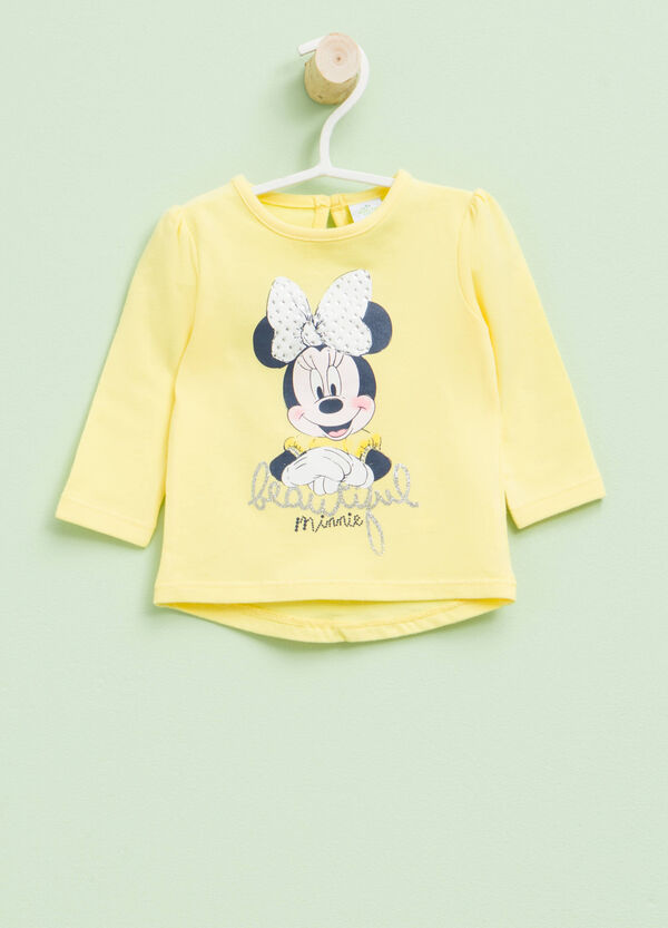 Minnie Mouse glitter print T-shirt | OVS