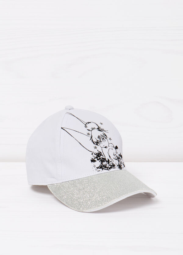Baseball hat with glitter and print | OVS