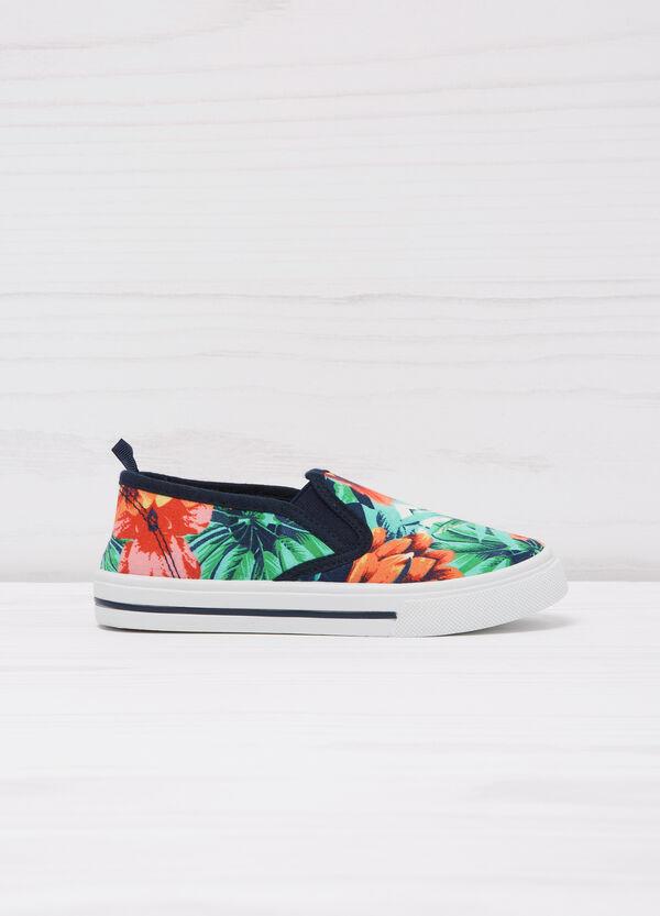 Floral slip-ons | OVS