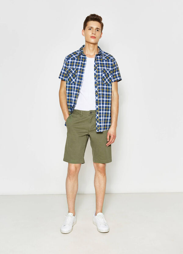 Pure cotton Bermuda shorts | OVS