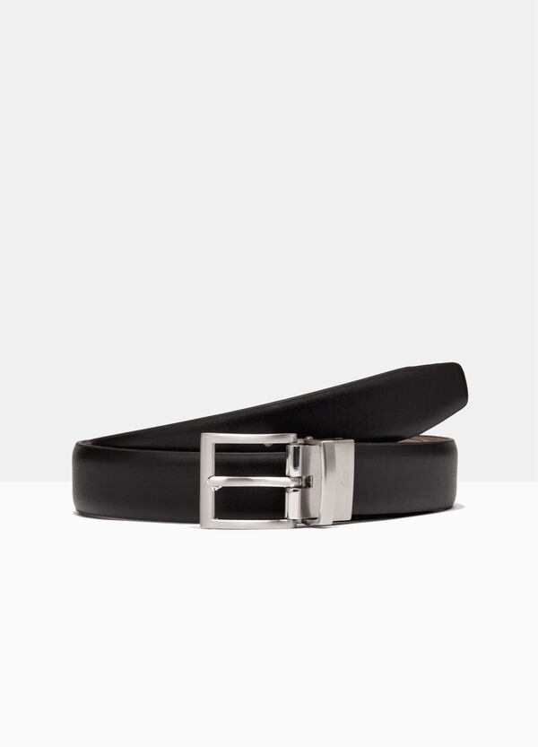 Belt with metal buckle. | OVS