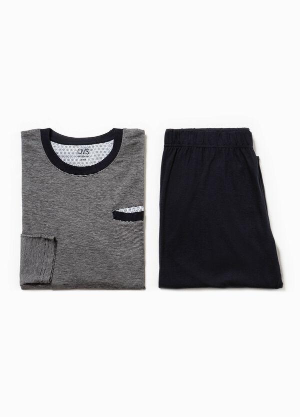 Pijama de algodón con fantasía de rayas | OVS