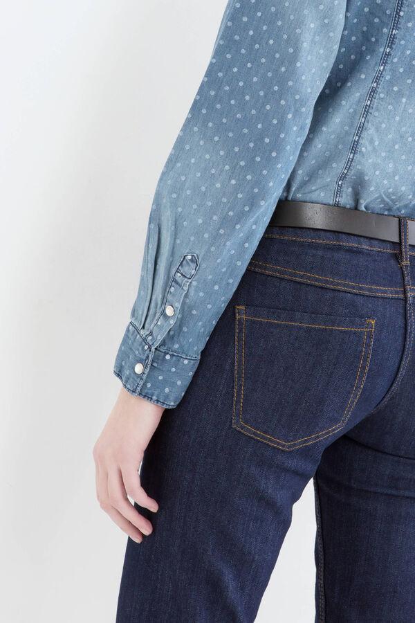Camicia di jeans a pois   OVS