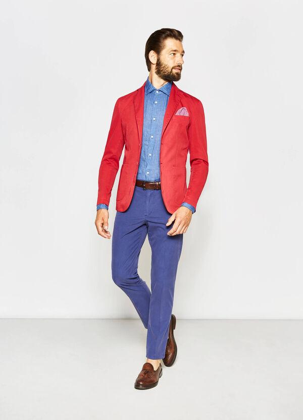 Rumford jacket in cotton gabardine | OVS