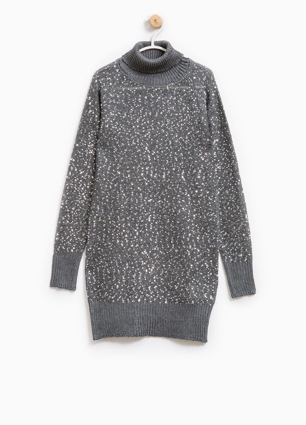 Pullover with sequins | OVS