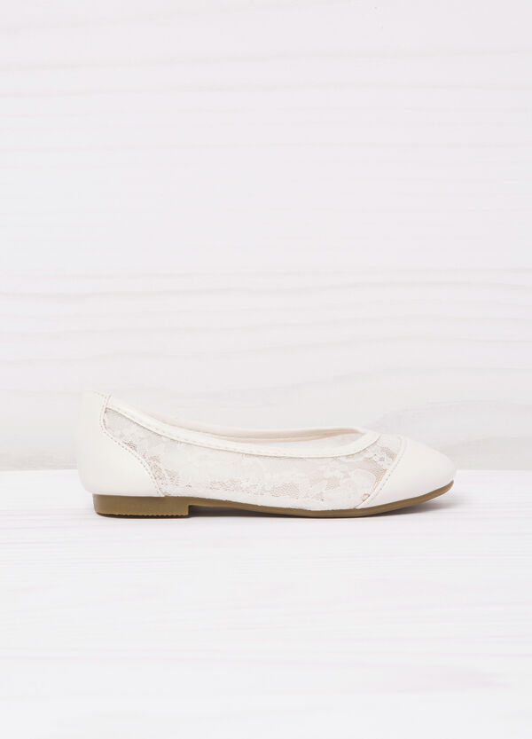 Ballerina flats with lace | OVS