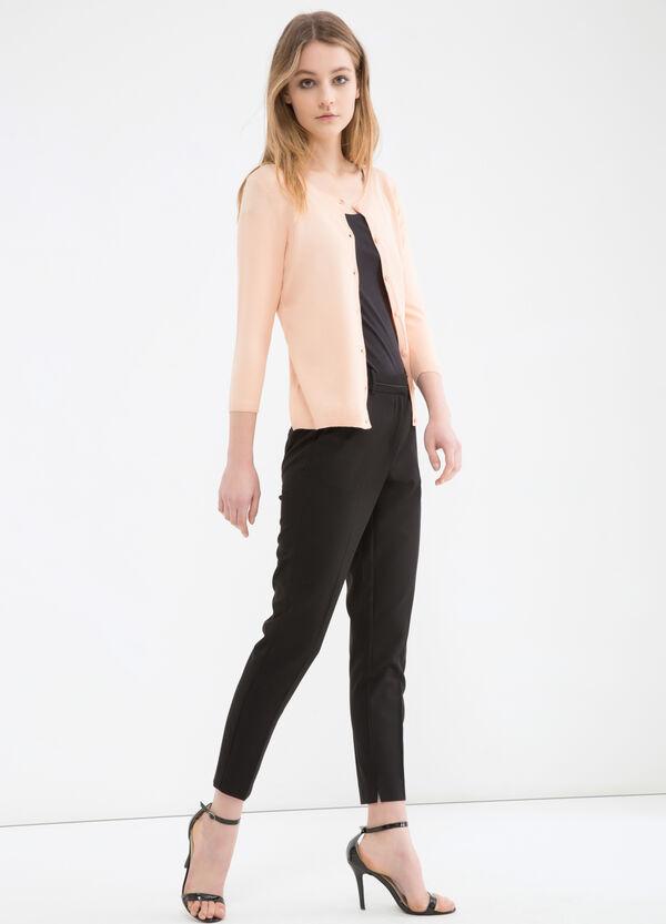 Cardigan tricot misto cotone   OVS
