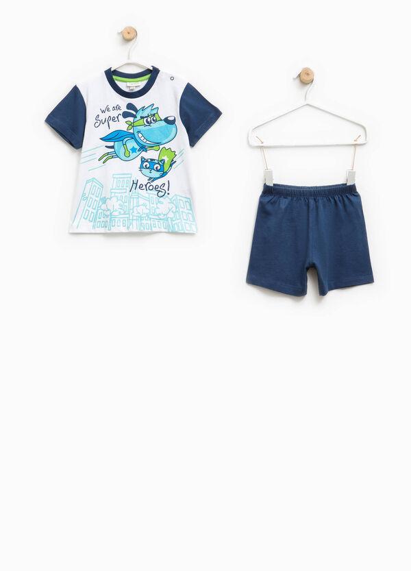 Top and shorts pyjama set | OVS