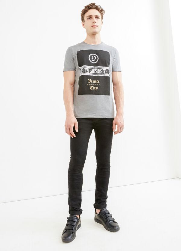 T-shirt puro cotone con stampa | OVS