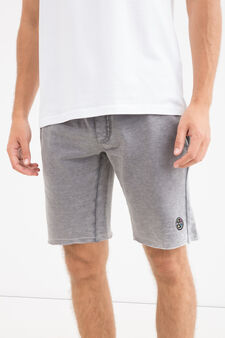 Cotton blend Bermuda by Maui and Sons, Grey, hi-res