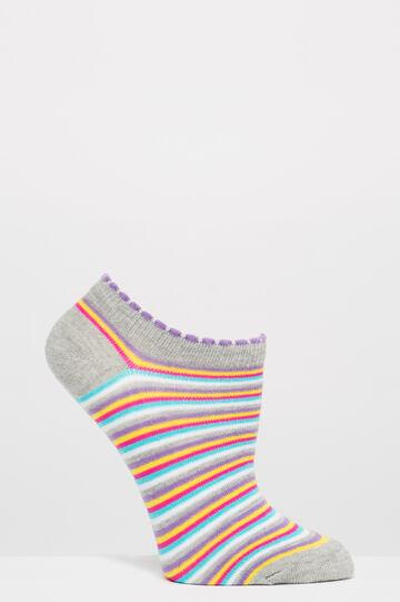 Set due paia di calze fantasia, Multicolor, hi-res