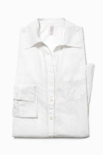Speckled cotton nightshirt