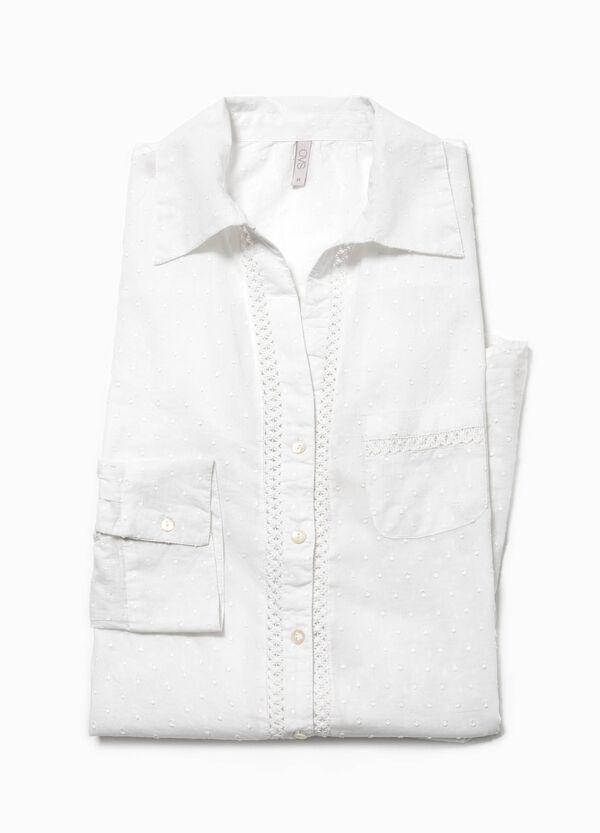 Camisón moteado de algodón | OVS