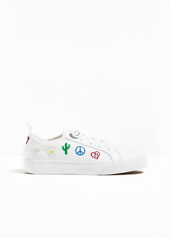 Sneakers with embroidery | OVS