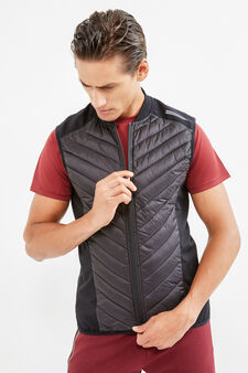 OVS Active Sport Training gilet, Black, hi-res