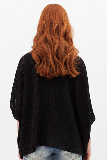 Curvyglam knit blouse, Black, hi-res