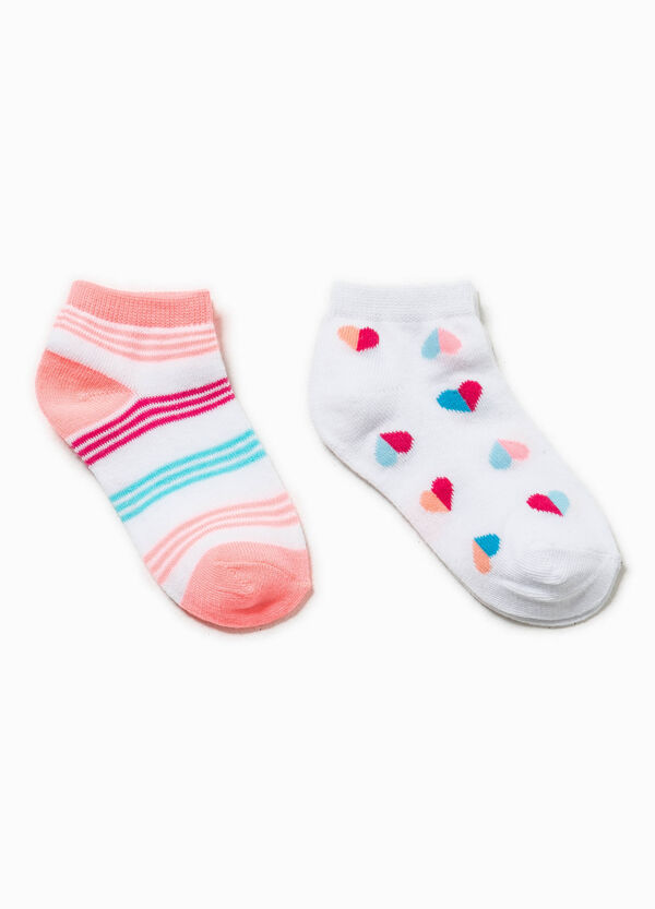 Two-pack patterned socks | OVS