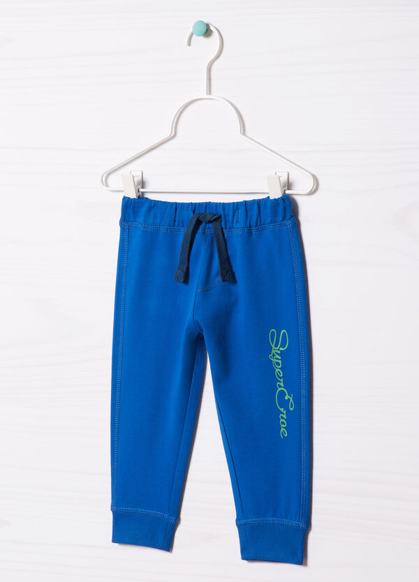 100% cotton printed trousers | OVS