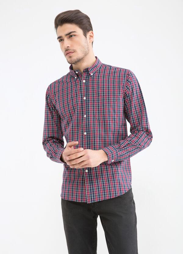 Camicia misto cotone tartan | OVS