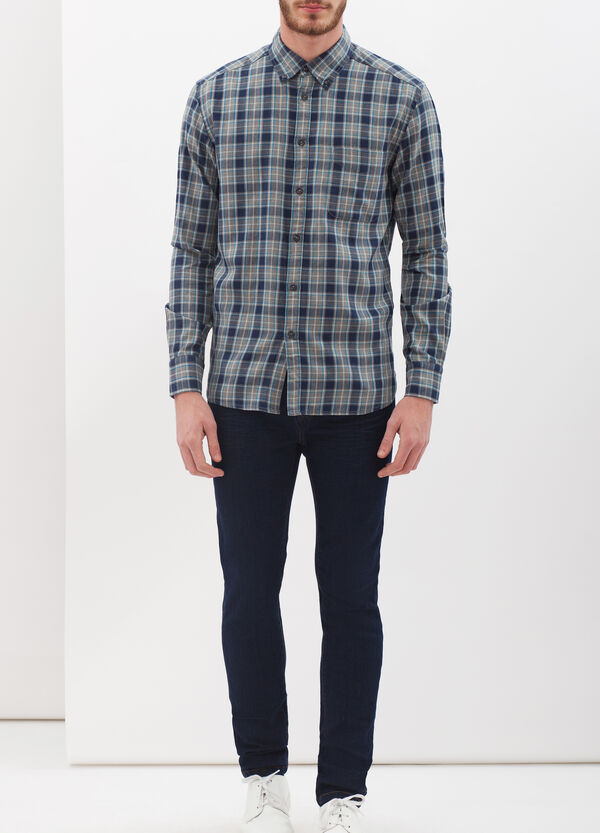 Checked flannel shirt | OVS