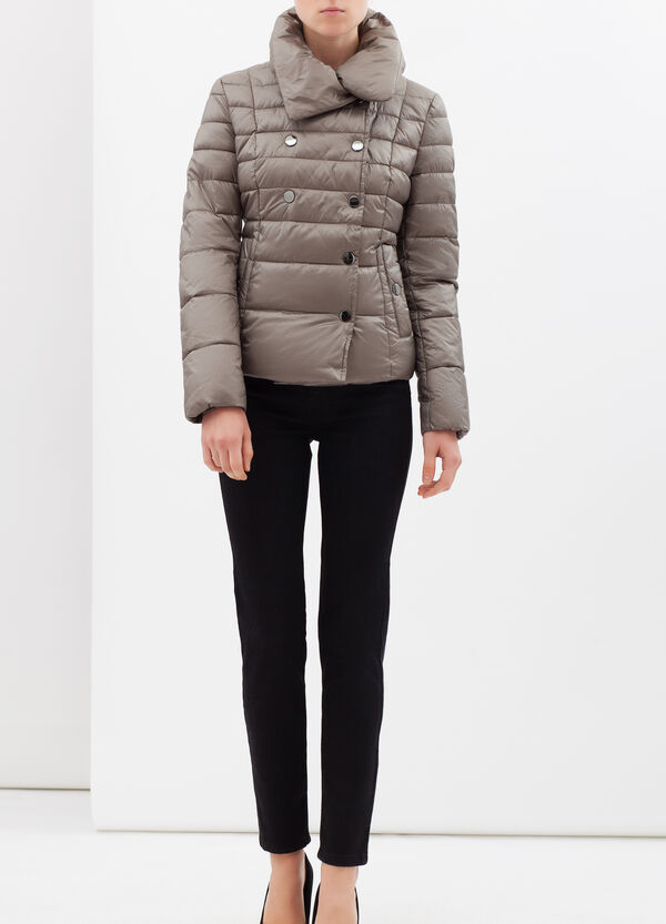 Double-breasted down jacket   OVS
