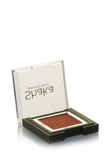 Compact eyeshadow with metal effect, Light Brown, hi-res