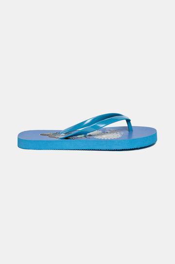 Cartoon flip-flops, Light Blue, hi-res