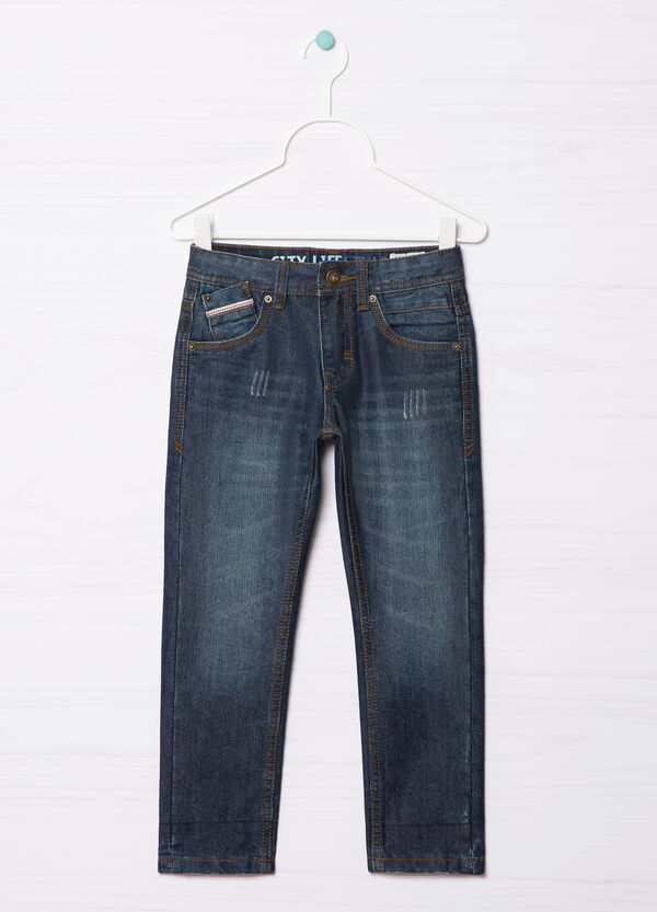 5-pocket, straight-fit jeans | OVS
