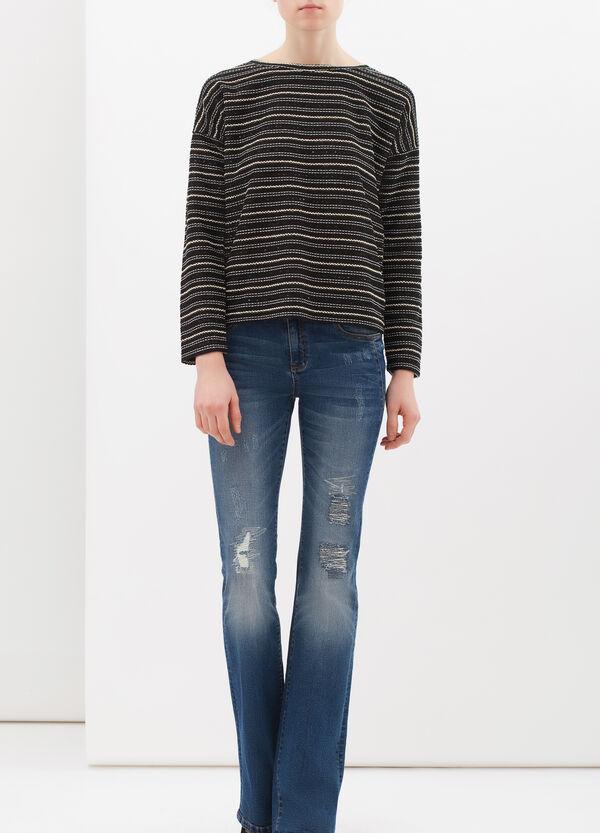 Sweatshirt in cotton lurex blend | OVS