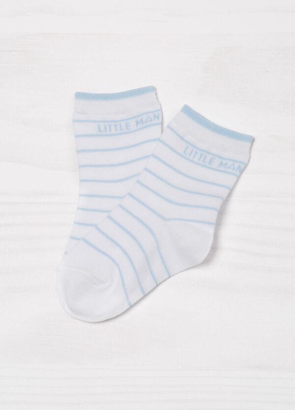 Set tre paia di calze stampa cotone | OVS