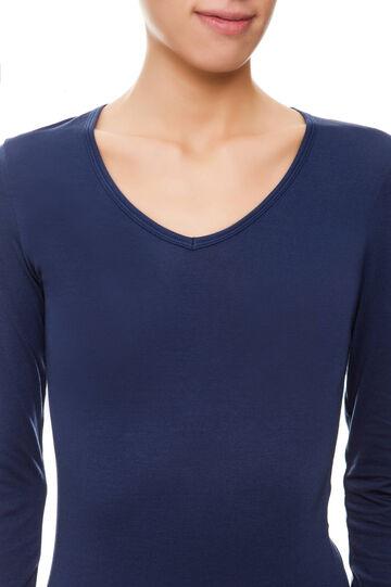 T-shirt Under Tech, Navy Blue, hi-res