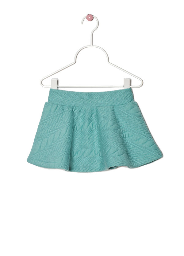Stretch solid colour skirt | OVS