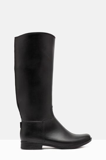 Tall rain boots, Black, hi-res