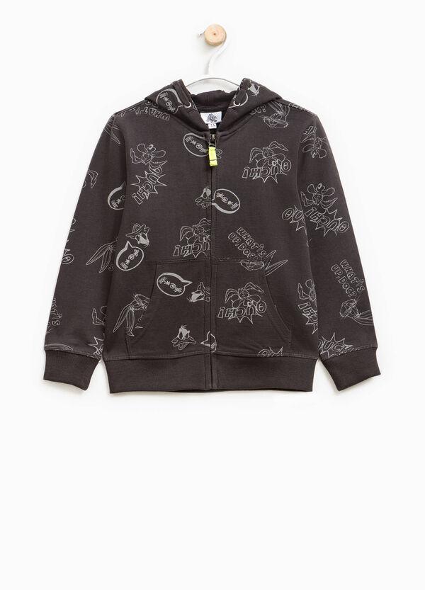 Cotton sweatshirt with Looney Tunes pattern | OVS