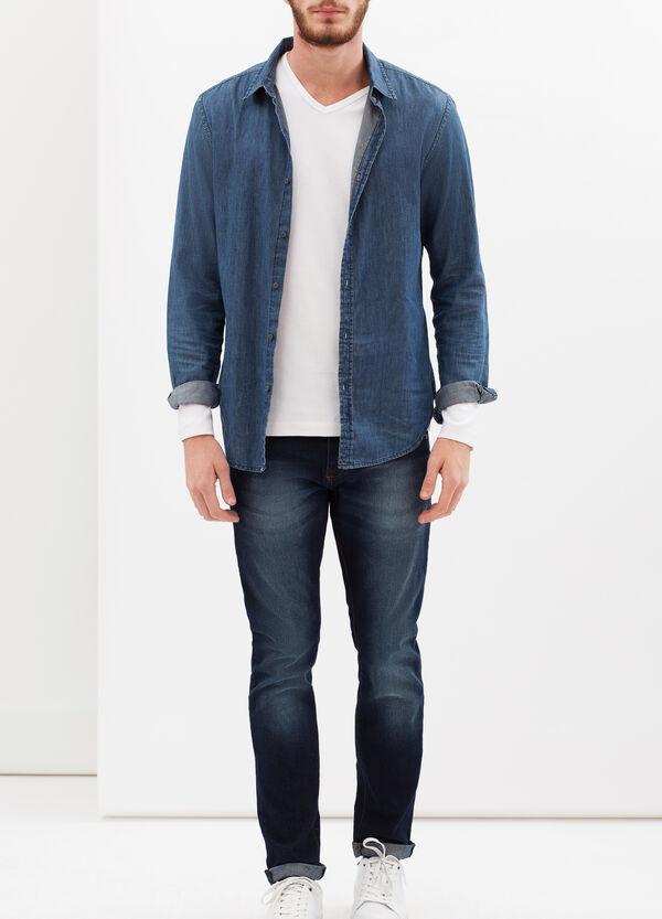 T-shirt puro cotone maniche lunghe | OVS