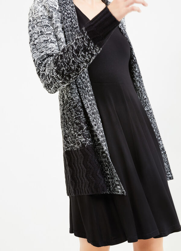 Long degradé cardigan with shawl neck | OVS