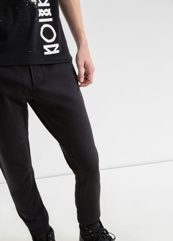 Joggers with ribbed ankle | OVS